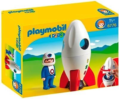 1.2.3 Cohete Y Astronauta de Playmobil (626623)