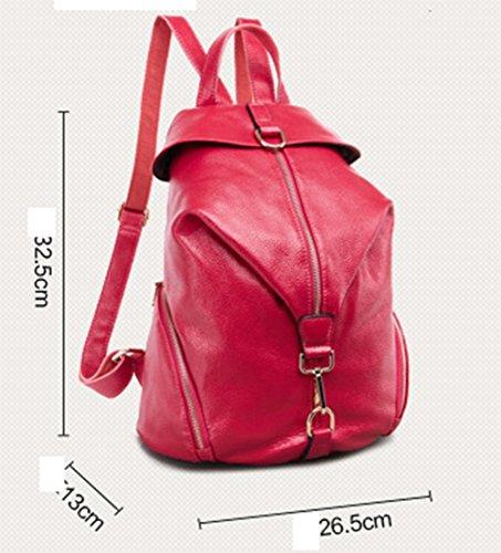 Ohmais Rücksack Rucksäcke Backpack Daypack Schulranzen Schulrucksack Schultasche Rucksack für Schülerin deep blue
