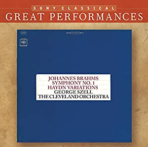 Symphony No. 1, Haydn Variations (Cleveland Orchestra)