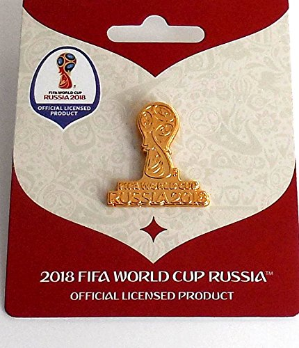 World Cup Pokal Pin (WM 2018 Pin Logo Pokal gold World Cup 2018 Pins)