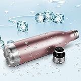 Balhvit Trinkflasche, Edelstahl, 350/ 500/ 750ml, ab 8 Jahre bis Erwachsen - 5