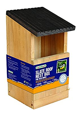 Gardman A04380 Robin Nest Box - Brown by Gardman