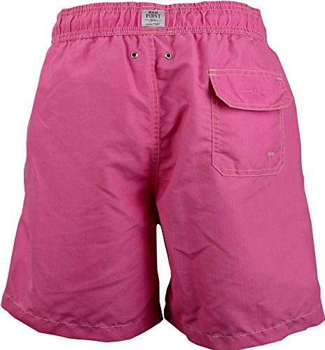 Red Point Beachwear, Homme, Short de bain, Vintage, Collection uni Rosé