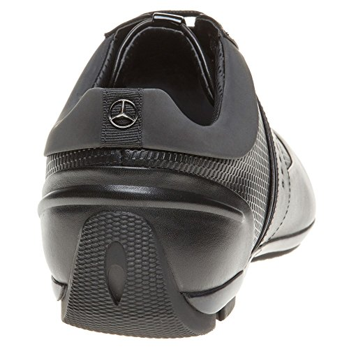 Boss Sporty Low Mercedes Benz Collection Homme Baskets Mode Noir Black