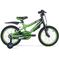 Kawasaki Krunch, Bicicletta Bambino, Verde, 12''