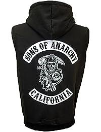 Sons Of Anarchy – Sudadera con capucha sin mangas - Jax Teller ...