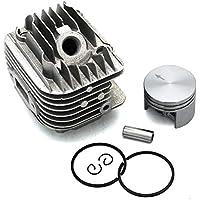 P SeekPro Kit de pistón de Cilindro 40 mm para Stihl 020 020T MS200 MS200T MS200Z MS200T-Z MC-200 Motosierra PN 1129 020 1202 1129 020 1201