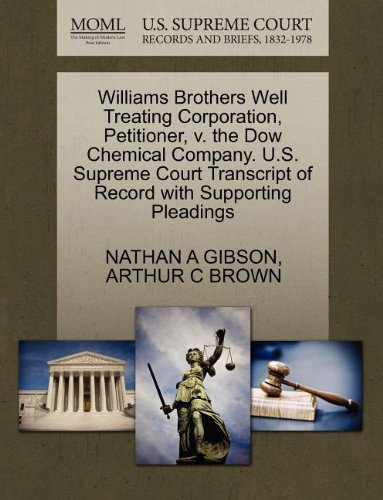 williams-brothers-well-treating-corporation-petitioner-v-the-dow-chemical-company-us-supreme-court-t