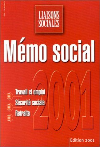 Mémo social 2001