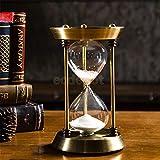Root of all evil 15/30 / 60 Minutos De Reloj De Arena Arena Temporizador para Escuela De Cocina Plancha De Cristal De La Hora Reloj Reloj De Arena Te Temporizadores Casa Decoracion Regalo