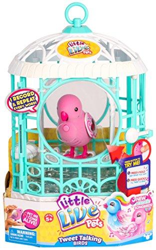 Little Live Pets - 34321 - S5 - Oiseau avec Cage Rosa rubis-Rose