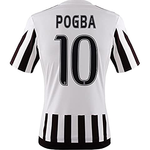 adidas Herren Juventus Turin Pogba Trikot Home 2016 weiss XL