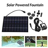 HUANGYABO 9V Solar Power Wasserpumpe Panel Kit Brunnen Teich Pool Wasser Pool