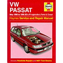 VW Passat Petrol and Diesel (May 1988-96) Service and Repair Manual (Haynes Service and Repair Manuals)