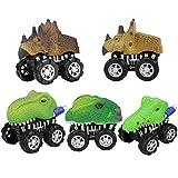 Happy Event 5 stücke Tier Reibung Angetriebenes Auto Ziehen Fahrzeug Mini Tier Auto Spielzeug Für Geschenke Kinder