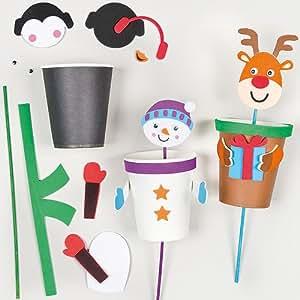 Kits marionnette pop up de no l que les enfants pourront - Fabriquer un instrument de musique original ...