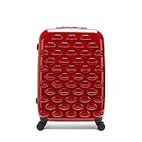 Lulu Guinness Hardsided Lips Spinner Roller Case, 69 cm, 69 liters, Red