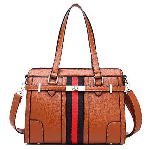 NIYUTA Damenhandtaschen Mode Schultertaschen Reise Freizeit Umhängetaschen - Krokodil Geprägtes Leder Handtasche