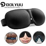 Schlafmaske, absolute Dunkelheit Schlafbrille,3D PLUS große Augenmaske, Augenabdeckung Augenbinde, mehr Platz für die Augen, festere Passform auf Ihrer Nase - für Damen & Herren schlafmaske.