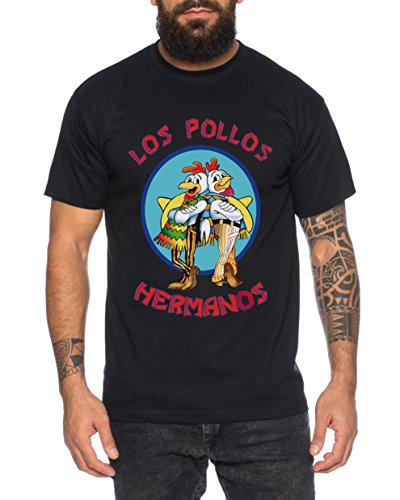 erren T-Shirt Hermanos Bad Heisenberg Breaking, Farbe:Schwarz;Größe:L ()