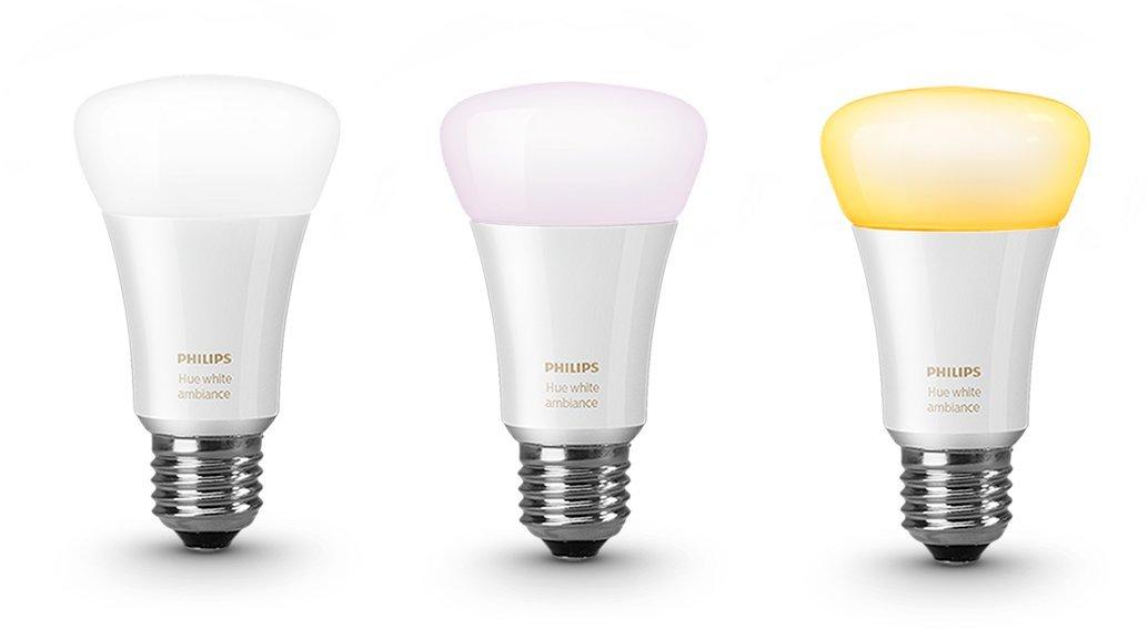 Dot Light Lampen : Hue white ambiance led lampe e27 starter set inkl. dimmschalter und