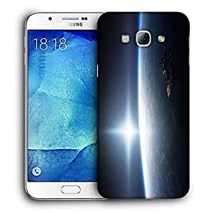 Snoogg Earth from Top Printed Protective Phone Back Case Cover for Samsung Galaxy Note 5