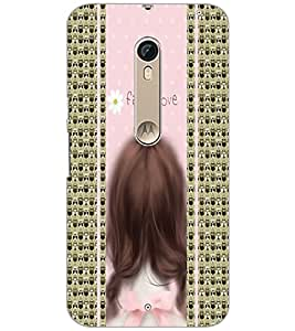 PrintDhaba Quote D-4335 Back Case Cover for MOTOROLA MOTO X STYLE (Multi-Coloured)