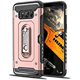 Danallc Case Compatible With Samsung Galaxy S8 Plus, Fashion Scratch Resistant Shock Absorbing Series Protective Case Compatible With Samsung Galaxy S8 Plus Rose Gold