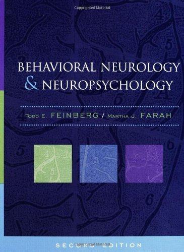 Behavioral Neurology and Neuropsychology by Todd Feinberg (2003-03-14)