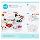 We R Memory Keepers Embellishment Caja para almacenar Adornos Bloom Storage White, Blanco, 28.7 X 16.5 X 28.7 Cm