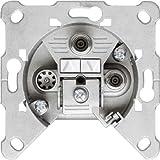 Hirschmann EDS 322 F 3-fach Antennen-Einzeldose