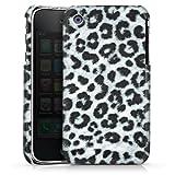 DeinDesign Apple iPhone 3Gs Coque Étui Housse Fourrure de léopard grise