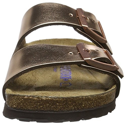 BIRKENSTOCK Arizona Damen Sandalen Gold (Metallic Copper)