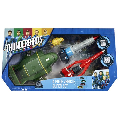 Thunderbirds Thunderbirds Vehicle Super Set