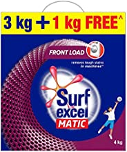Surf Excel Matic Front Load Detergent Washing Powder, Specially Designed For Tough Stain Removal In Front Load