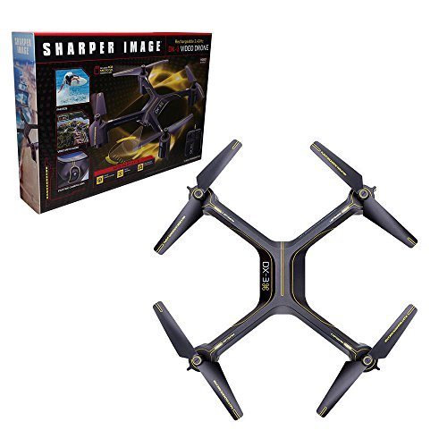 sharper-image-rechargeable-dx-3-video-drone-24-ghz-by-sharper-image