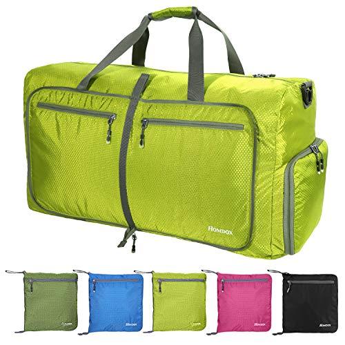 Seesack, 85 l Leichte Faltbare Reisetasche Groß Weekender Sporttasche Damen Herren Übernachtung Duffel Tasche für Reisen Sport Gym Urlaub