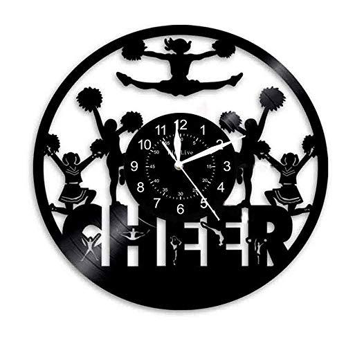 """Reloj De Pared De Vinilo De 12 """"(30 Cm) - Reloj De Vinilo Creativo - Mecanismo Silencioso - Reloj De Pared De Vinilo Reciclado Minimalista - Regalo Hecho A Mano ( color : G , Tamaño : 12 pulgadas )"""