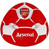 Arsenal F.C. Inflatable Chair- football design inflatable chair- with two drinks holders- approx 80cm x 80cm x 60cm- in a card display- official licensed product