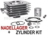 60 ccm RACING ZYLINDER KIT KOMPLETT SET NADELLAGER für SIMSON S 51 SR 50 ENDURO