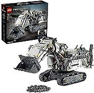 LEGO 42100 Technic Liebherr Bagger R 9800, App-gesteuertes Konstruktionsspielzeug für Fortgeschrittene mit Sma