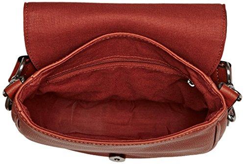 ESPRIT - 087ea1o002, Borse a spalla Donna Arancione (Terracotta)