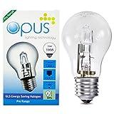 5 x Ampoules GLS Halogènes 70W = 100W Culot a Vis ES E27