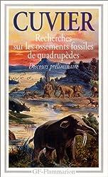 Recherches sur les ossements fossiles de quadrupèdes : Où l'on établit les caractères de plusieurs espèces d'animaux que les révolutions du globe ... sur l'ibis des anciens Égyptiens], 1812