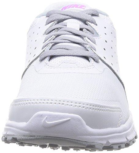Nike Wmns Revolution Eu, Scarpe Sportive, Donna White / Fuchsia Glow-wolf Gris