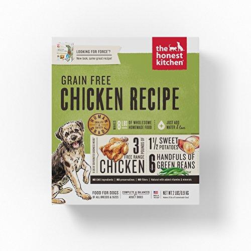 Comida grado alimenticio en grano, deshidratada, para perro, de The Honest...