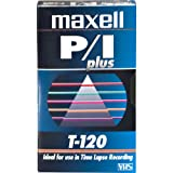 Maxell T-120 PROFESSIONAL-VIDEO TAPE 120 MIN 1PK ( 214112 )