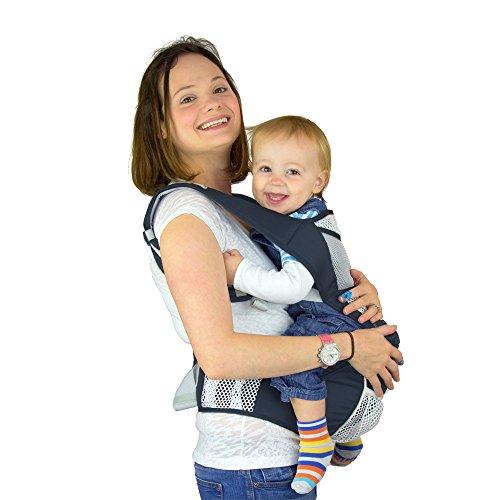 NimNik Marsupio porta-bebè con fascia ergonomica,