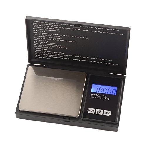 Kreema 100g mini bilance digitali tascabili bilance elettroniche per cucina / gioielli / t¨¨ / latte in polvere / caff¨¨