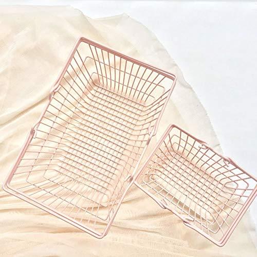 Draht-speicher-korb (WDOIT 1lron Rahmen Aufbewahrungskorb Metall Aufbewahrungskorb Shopping Aufbewahrungskorb Korb Eisen Draht Aufbewahrungskorb)